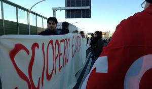 Italy: logistics workers on strike