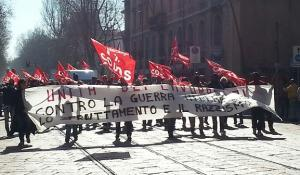 General Strike of grassroots union. The boss is the enemy!