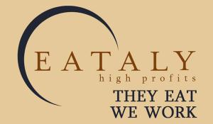 The double face of Eataly: they eat, we work