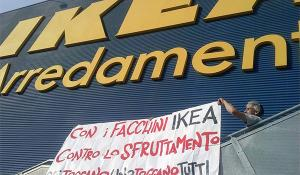 International mobilization against IKEA to reinstate 24 fired workers in Piacenza (Italy)